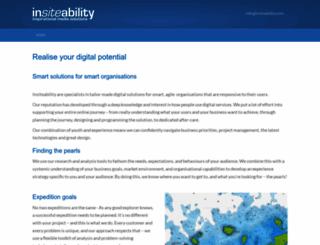 insiteability.com screenshot