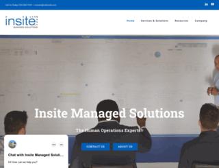 insitemanagedsolutions.com screenshot