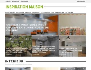 inspiration-maison.be screenshot