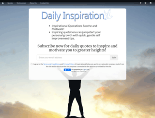 inspirationaldaily.com screenshot
