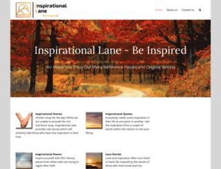 inspirationallane.com screenshot