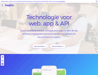 inspire.nl screenshot