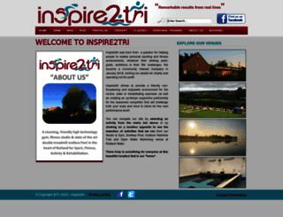 inspire2tri.com screenshot