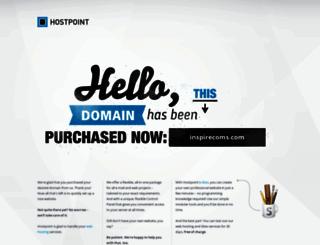 inspirecoms.com screenshot