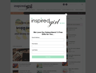 inspiredgirl.net screenshot