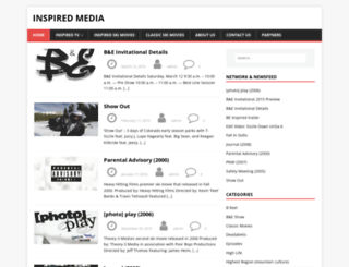 inspiredmedia.tv screenshot
