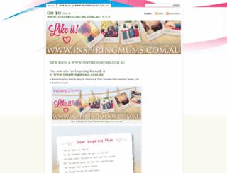 inspiringmums.wordpress.com screenshot