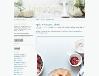 inspiringtheeveryday.com screenshot