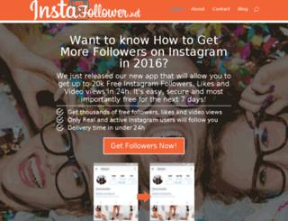 instafollower.net screenshot