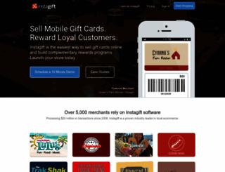 instagift.com screenshot