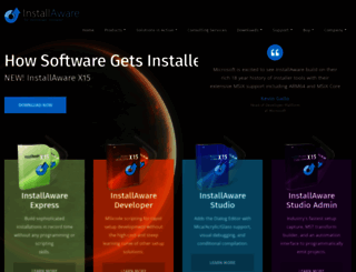 installaware.com screenshot
