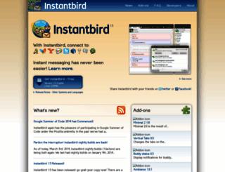 instantbird.com screenshot
