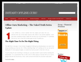 instantofflineguru.com screenshot