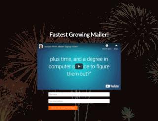 instantprofitmailer.com screenshot