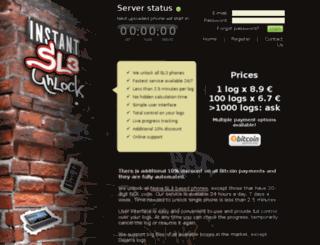 instantsl3unlock.com screenshot