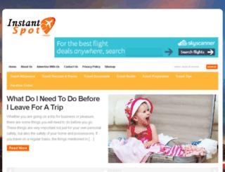 instantspot.com screenshot