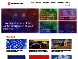 instanttechtips.com screenshot