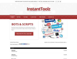 instanttoolz.weebly.com screenshot