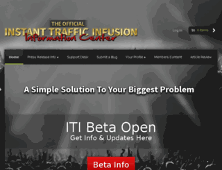 instanttrafficinfusion.net screenshot