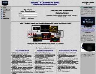 instanttvchannel.com screenshot