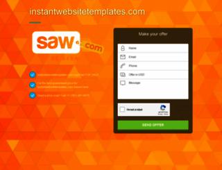 instantwebsitetemplates.com screenshot