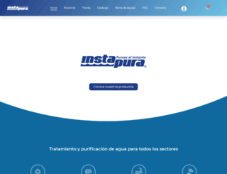 instapura.com.mx screenshot