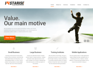 instarise.com screenshot
