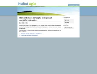institut-agile.fr screenshot