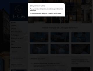 institut-main.fr screenshot