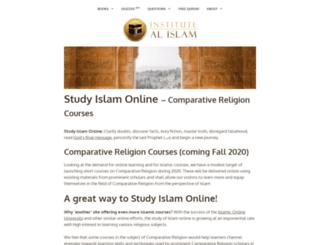 institutealislam.com screenshot