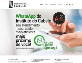institutodocabelo.com.br screenshot