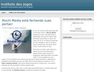 institutodosjogos.com screenshot