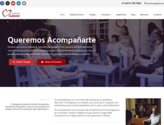institutogalene.com screenshot