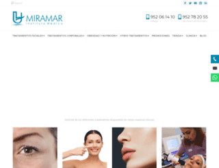 institutomedicomiramar.com screenshot