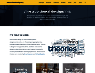 instructionaldesign.org screenshot