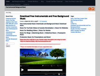 instrumentalsfree.com screenshot