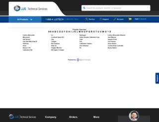 instruments.jjstech.com screenshot