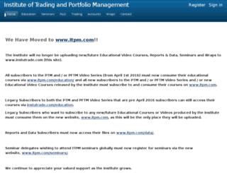 instutrade.com screenshot