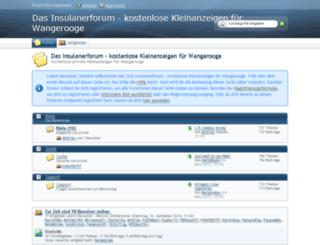 insulanerforum.de screenshot