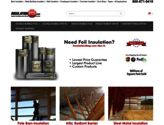 insulationstop.com screenshot