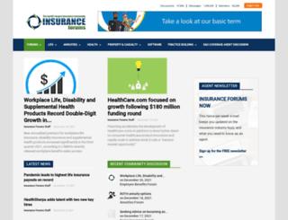 insurance-forums.net screenshot