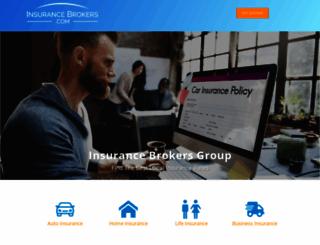 insurancebrokers.com screenshot
