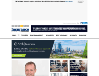 insurancebusinessonline.com.au screenshot