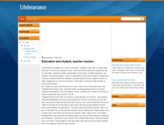insuranceedu.blogspot.com.au screenshot