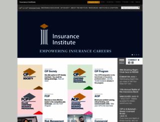 insuranceinstitute.ca screenshot