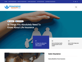 insurancequotes99.com screenshot