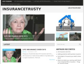 insurancetrusty.com screenshot