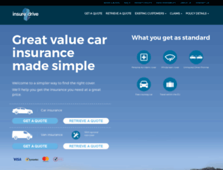 insure2drive.co.uk screenshot
