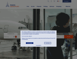 int.aeroportsdeparis.fr screenshot