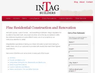 intagbuilders.com screenshot